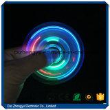 Fileur en cristal de la personne remuante Spinner/LED/fileur transparent en cristal de personne remuante