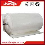 77GSM o rolo 44 '' *100m jejua papel seco do Sublimation da tintura da taxa de transferência elevada para a impressora Inkjet