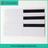 O melhor cartão de microplaqueta de venda do contato 4442 com a listra magnética de Hico