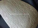 Cuoio di superficie di Microfiber di effetto dell'imperlatura per il sofà