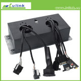 O soquete Multifunctional de Deaktop para a tabela de conferência/estala acima a tomada da caixa/soquete