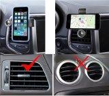 Soporte de teléfono de montaje de ventilador de coche