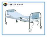 (A-111) Cama de hospital manual de la función doble movible