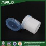 합동 모자 작은 약제 PP 플라스틱 남비 12ml 플라스틱 건조한 분말 단지를 가진 12g PP 플라스틱 백색 장식용 단지