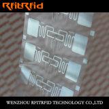 Resistencia a doblar la escritura de la etiqueta elegante de RFID