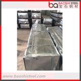 Preços baratos Textured de aço do telhado do metal de folha de Baoshi