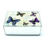 Caja de exhibición de cristal única barata al por mayor del regalo de la joyería del almacenaje
