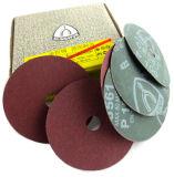 Disco abrasivo della fibra dell'ossido di alluminio per Matal & legno