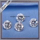 Diamante sintético frouxo branco incolor de China Moissanite de 2 quilates melhor para a jóia