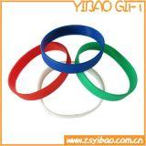 Kundenspezifisches Gummiarmband-Band-Silikon Wrisband Schmucksache-Geschenk (YB-HD-118)
