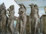 Granito naturale/figura di pietra intagliata marmo/statua/scultura animali per il giardino/decorazione esterna