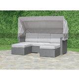 Da mobília ao ar livre do jardim do pátio sofá de vime do Rattan