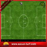 축구를 위한 인공적인 뗏장 잔디가 축구에 의하여 합성 잔디 양탄자