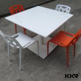 Moderner quadratischer fester Oberflächenmarmorsteinbankett-Tisch (T1704123)