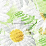 100%Polyester 백색 해바라기 Pigment&Disperse는 침구 세트를 위한 직물을 인쇄했다