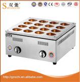 16の穴のステンレス鋼のガスの小豆のケーキ機械
