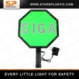 3mの反射鏡が付いている再充電可能なLED Sigaのフラッシュかい危険信号