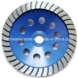 L'outil de diamant roue de meulage de cuvette de 120 millimètres scie la lame