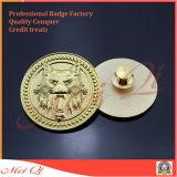 Distintivo del metallo con il marchio di Hard Enamel Company per la promozione