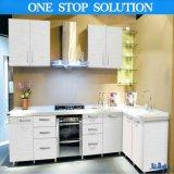 Cozinha barata personalizada porta do MDF da laca