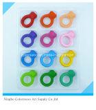 60g 12PCS 3D Plastic Crayons pour étudiants et enfants