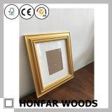 Blocco per grafici di legno della foto della maschera dell'oro della galleria per la decorazione domestica