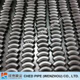 reductor de la instalación de tuberías de los Ss del borde del tubo del acero inoxidable