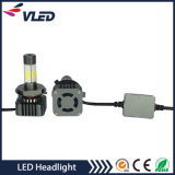 H4 resistore bianco del caricamento del faro del CREE LED 18W DC8-28V LED