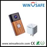 Carillón de interior sin hilos 180&#160 del timbre video de WiFi; º Cámara del IP de la visión mini
