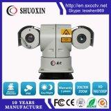 Laser PTZ der 500m Nachtsicht-2.0MP 20X 5W IP-Kamera