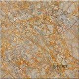 3DインクジェットISO 600X600mmの大理石の床タイルの十分に磨かれた艶をかけられたセラミックタイル