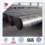 100nb Schedule40 A53 API 5L Gr. B en acier à base de carbone soudé en spirale