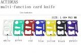 Многофункциональный напольный нож оборудует нож 11 бумажника кредитной карточки выживания портативный в 1