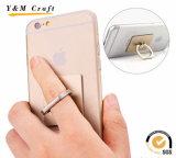Universal suporte pegajoso do anel de dedo de uma forma de 360 graus para o telefone móvel