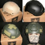 Nij IiiaのPEの/Kevlarの速い防弾ヘルメット