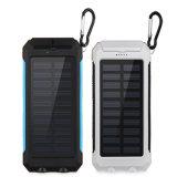 10000mAh IP68 a prueba de polvo a prueba de choques impermeabilizan la batería de la energía solar con el compás