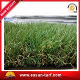 herbe artificielle de regard normale de jardin d'horizontal de 35mm