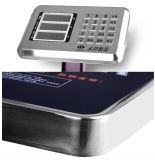 Escala de peso impermeável eletrônica do banco da escala de plataforma do aço inoxidável (DH-C5)