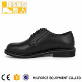 Исправленные кожаный ботинки офиса полиций Mens