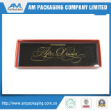 Contenitore impaccante di timbratura caldo di marchio del documento di regalo su ordinazione del cioccolato con il polsino