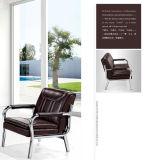 Freizeit-moderner Entwurfs-populäres Büro-Leder-Sofa-allgemeines Sofa-Kaffee-Sofa auf Lager