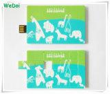 Flash Drive Nuevo Puzzle Tarjeta vendedora caliente del USB con impresión de la insignia de colores (WY-C03)