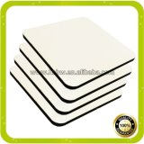 Factory Wholesale 30X42cm Rectangular Sublimation MDF Cork Placemat