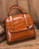 2017人の新式のハンド・バッグのワニパターン単一カラー女性袋Hcy-5028