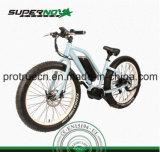 Shimanoの速度ギヤが付いている脂肪質のタイヤの電気自転車