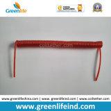Поводок катушки Bungee инструмента провода пластичного покрытия Китая прозрачный красный