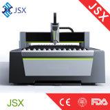 Cortadora de trabajo estable del laser del plasma de la fibra de la estructura del pórtico de Jsx3015 500With1000W