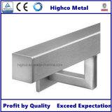 ステンレス鋼の正方形の手すりブラケット(管への壁)