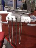 حارّة يبيع [هيغقوليتي] [س] يوافق حقيقيّة جلد كرسي تثبيت أسنانيّة مع [لد] محسّ ضوء