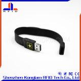 Wristband modificado para requisitos particulares del silicón RFID del disco del color U